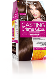 L'Oreal Paris Casting Creme Gloss 500 Medium Brown