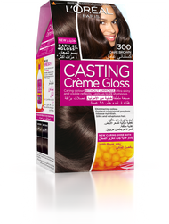 L'Oreal Paris Casting Creme Gloss 300 Darkest Brown