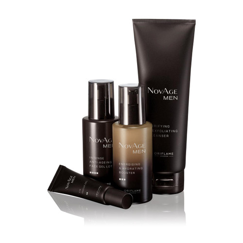 Oriflame Novage Men Set 4 Pieces. Lowest price on Saloni.pk.