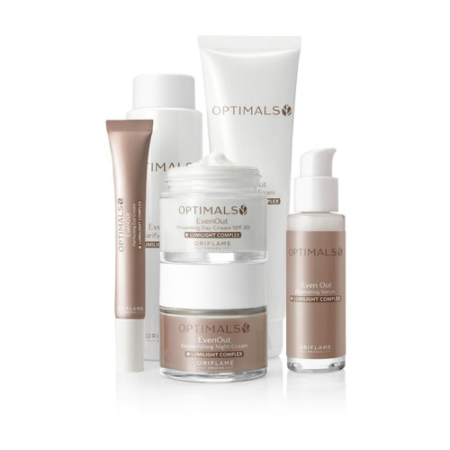 Oriflame Optimals Even Out Set 6 Pieces. Lowest price on Saloni.pk.