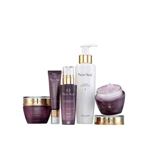 Oriflame Novage Ultimate Lift Set 5 Pieces. Lowest price on Saloni.pk.