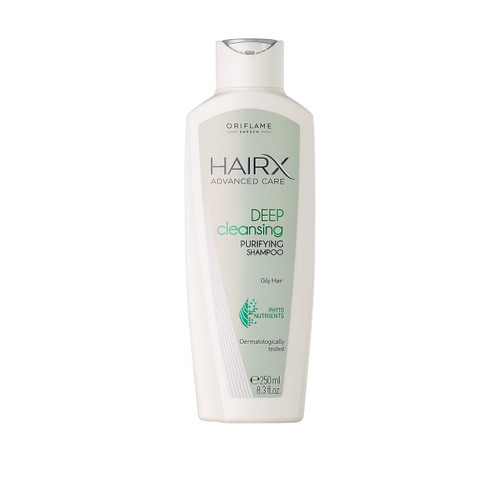 Oriflame Hairx Advanced Care Deep Cleansing Purifying Shampoo. Lowest price on Saloni.pk.