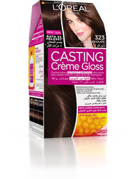 L'Oreal Paris Casting Creme Gloss 323 Dark Chocolate
