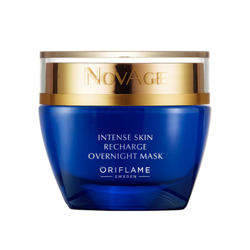 Oriflame Novage Intense Skin Recharge Overnight Mask 50 ML. Lowest price on Saloni.pk.