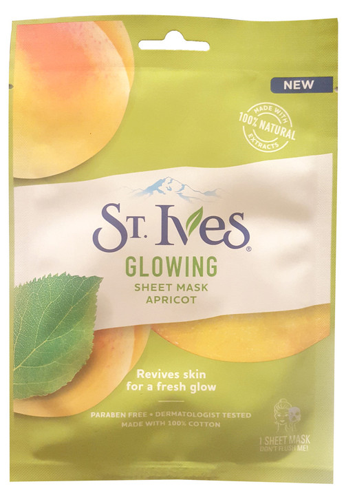 St.Ives Glowing Face Mask Apricot 1 Sheet