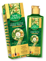 Nine Leaves Herbal Hair Oil with Active Argan Oil buy online in Pakistan