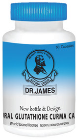 Dr.James Glutathione 500mg 60 Capsules lowest Price On Saloni.pk