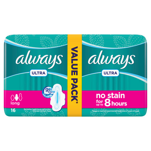 Always Pads Ultra Long 16. Lowest price on Saloni.pk.