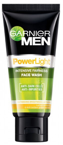 Garnier Men Powerlight Face Wash 100 ML. Lowest price on Saloni.pk
