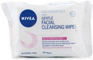 Nivea Gentle Facial Cleansing Wipes