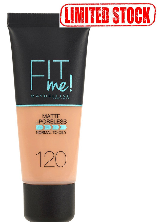 Maybelline Fit Me Matte & Poreless Foundation Classic Ivory 120 Limited Stock . Lowest price on Saloni.pk.