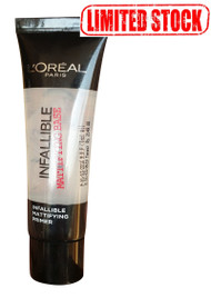 L'Oreal Paris Infallible Primer Matte Base 35 ML Limited Stock. Lowest price  on Saloni.pk