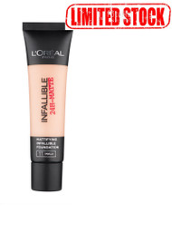 L`Oreal Paris Infallible 24H Matte Foundation 12 Natural Rose