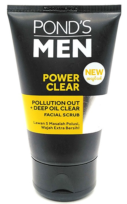 Pond's Men Power Clear Pollution Out + Deep Oil Clear Facial Scrub lowest price in pakistan