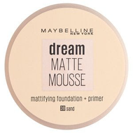 Maybelline Dream Matte Mousse Foundation + Primer Sand 30. Lowest price on Saloni.pk