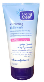 Clean & Clear Exfoliating Daily Wash 150 ML buy online in pakistan