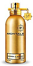 Montale Amber and Spices Shiny Gold EDT Spray 50 ML. Lowest price on Saloni.pk