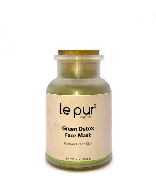 Le Pur Organics Green Detox Face Mask 100g. Lowest price on Saloni.pk