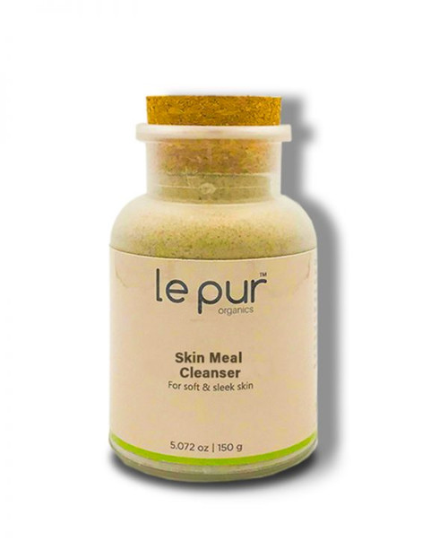Le Pur Organics Skin Meal Cleanser 150 Grams. Lowest price on Saloni.pk