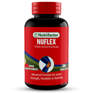 Nutrifactor Nuflex Joint Support Triple Action Formula 30 Tablets