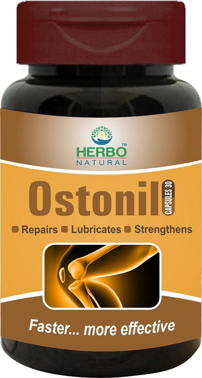 Herbo Natural Ostonil Joint Health 30 Capsules. Lowest price on Saloni.pk