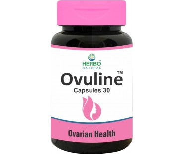 Herbo Natural Ovuline Ovarian Health 30 Capsules. Lowest price on Saloni.pk