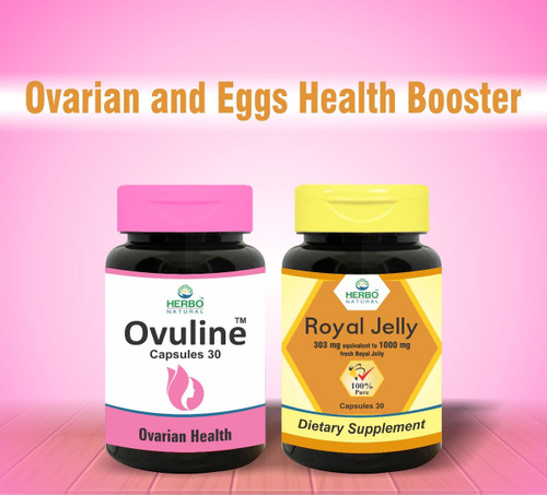 Herbo Naturals Ovarian And Egg Health Booster. Lowest price on Saloni.pk