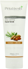 Petal Fresh Botanicals Whitening Deep Cleansing Facial Scrub Rosemary & Almond 200 ML