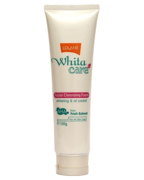 Lolane Whita Care Facial Cleansing Foam 120 Grams.  Lowest price on Saloni.pk