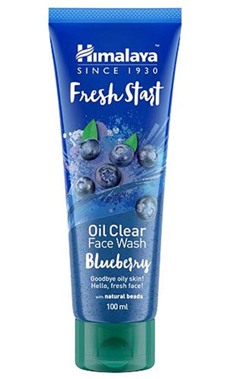 Himalaya Fresh Start Oil Clear Face Wash Blueberry 100ml. Lowest price on Saloni.pk