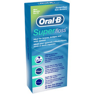 Oral-B 50m Pre Cut Strands Super Floss. Lowest price on Saloni.pk