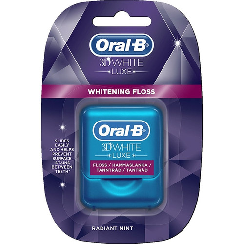 Oral-B 35m 3d White Luxe Tandtrad Floss. Lowest price on Saloni.pk
