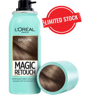 L'oreal Paris Magic Retouch Root Touch Up Hair Color Spray - Brown 75ML. Lowest price on Saloni.pk