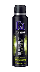 Fa Men Sport Energy Boost 72h Protection 200 ML. Lowest price on Saloni.pk
