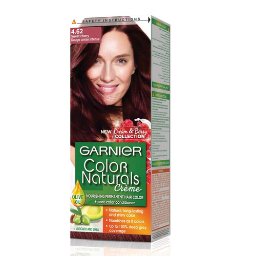 Garnier Color Naturals Hair Color Sweet Cherry 4.62. Lowest price on Saloni.pk