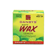 Danbys Lemon Soft Wax Standard Pack 80 Grams.Lowest price on Saloni.pk