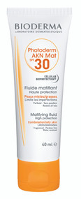 Bioderma Photoderm AKN Mat High Protection Matifying Fluid SPF30. Lowest price on Saloni.pk
