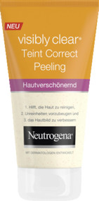 Neutrogena Visibly Clear Teint Correct Peeling 150 ML. Lowest price on Saloni.pk