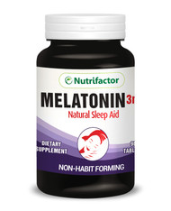 Nutrifactor Melatonin 3MG Natural Sleep Aid 90 Tablets buy online in pakistan