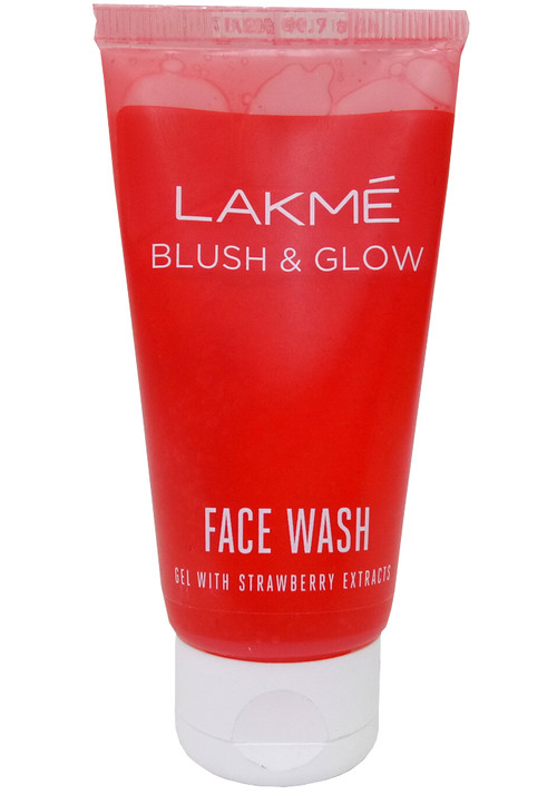 Lakme Strawberry Creme Face Wash 100g. Lowest price on Saloni.pk.