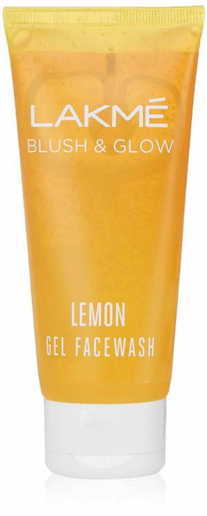 Lakme Blush & Glow Lemon Face Wash 100 Grams.  Lowest price on Saloni.pk.
