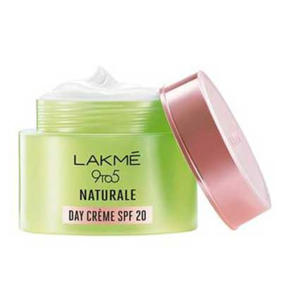 Lakme 9 to 5 Natural Day Cream Spf 20. Lowest price on Saloni.pk.
