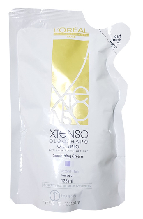 L'Oreal Professionnel X-Tenso Smoothing Cream For Resistant Hair 125 ML. Lowest  price on Saloni.pk