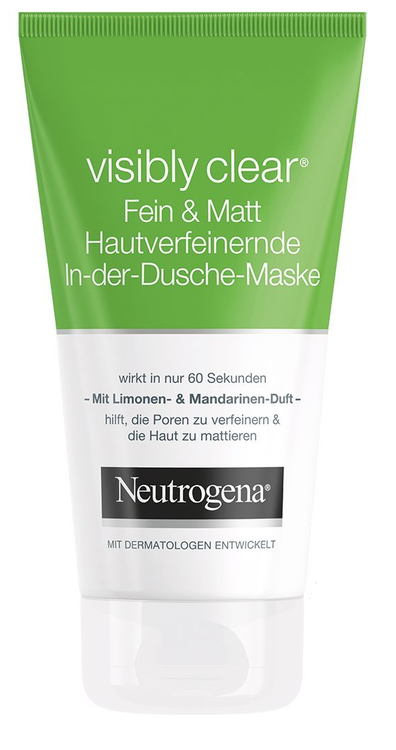 Neutrogena Visibly Clear Fein & Matt Skin Pore-Refining & Mattifying Face Mask 150ml