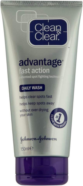 Clean & Clear Advantage Cleansing Wash 150ml