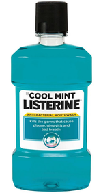 Listerine Cool Mint Anti-Bacterial Mouthwash buy online in pakistan