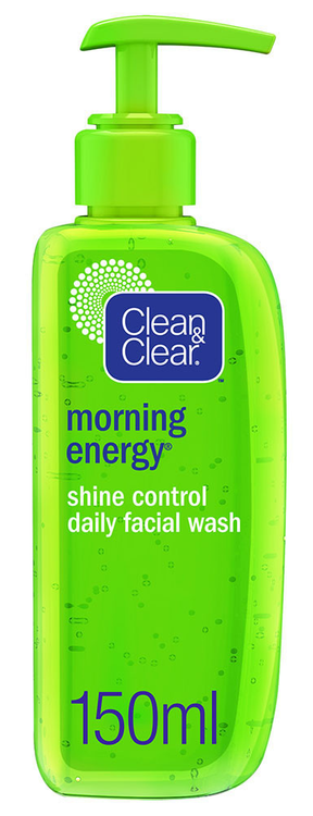 Clean & Clear Morning Energy Shine Control Facial Wash 150ML