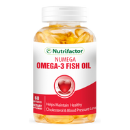 Nutrifactor Numega Omega 3 Fish Oil 60 Softgels