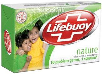 Lifebuoy Nature With Neem & Lemongrass Bar Soap