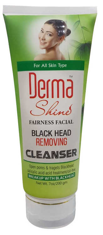 Derma Shine Blackhead Removing Cleanser 200g